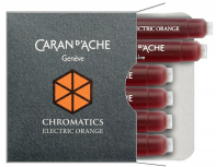 Картридж для ручек Carandache Chromatics 8021.052 Electric orange