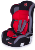 Автокресло Baby Care Upiter Plus (1-12лет) Black/Red