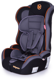 Автокресло Baby Care Upiter Plus (1-12лет) Black/Orange