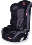 Автокресло Baby Care Upiter Plus (1-12лет) Black/Grey