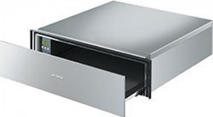 Встраиваемый шкаф для подогрева посуды Smeg CTP15X