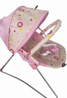 Everflo BABY BOUNCER BEBABYBUS UC42 Pink
