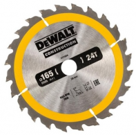 Пильный диск DeWalt Construction 165х20 мм 24ATB DT1934-QZ