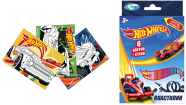 Пластилин Центрум Hot Wheels 6 цветов 88618