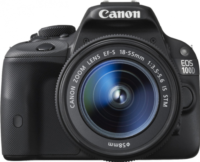 Цифровой фотоаппарат Canon EOS 100D KIT black 18Mpix 18-55 EF-S 1080p SDHC TouLCD Набор с объективом EF-S