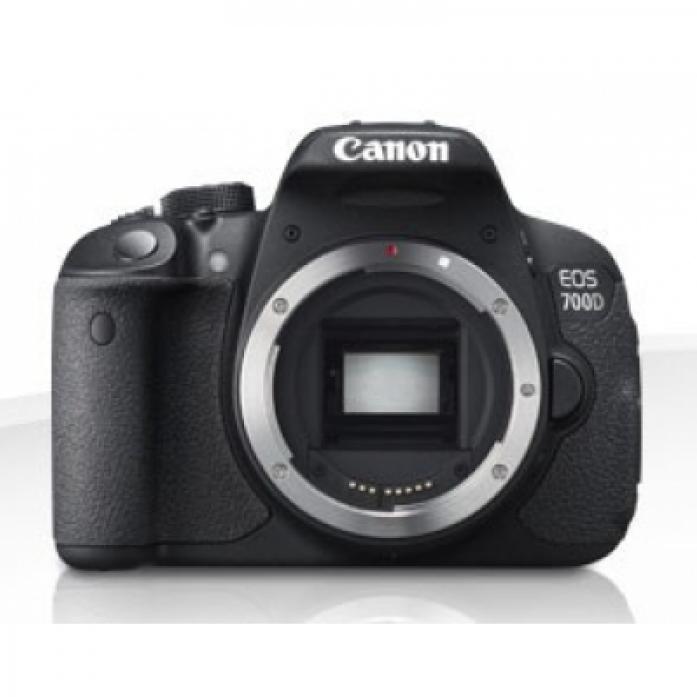 "Цифровой фотоаппарат Canon EOS 700D KIT black 18Mpix 18-55 IS STM 3"" 1080p SDHC turLCD Набор с объективомLP-E"