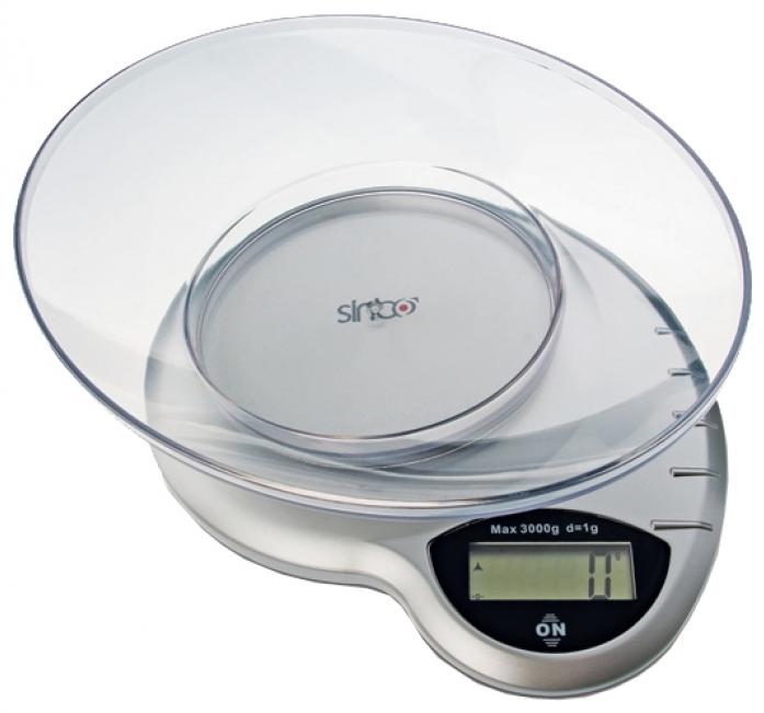 Кухонные весы Sinbo SKS 4511 серебристый