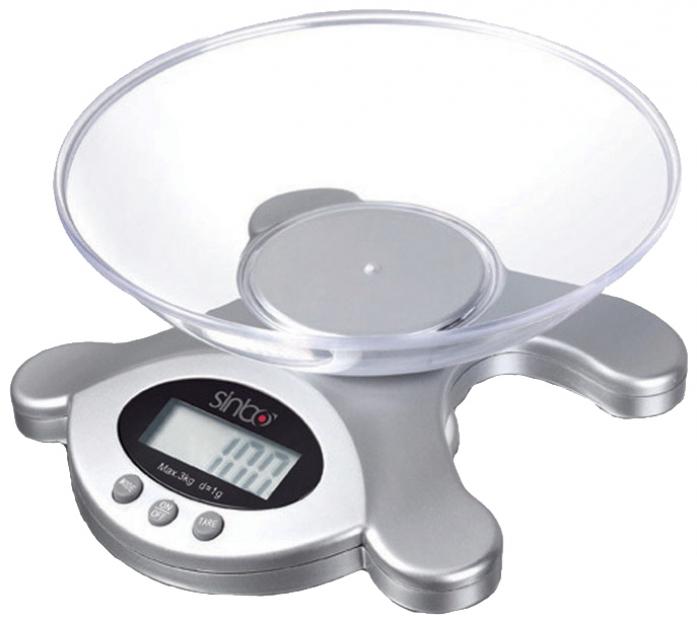 Кухонные весы Sinbo SKS 4514 серебристый