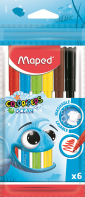 Maped Color Peps Ocean 6 цветов 845723