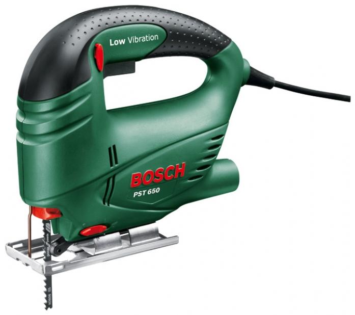 Лобзик Bosch PST 650 БЗП кейс 06033А0720