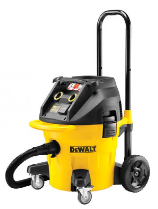 Промышленный пылесос DeWalt DWV902L L класса, 35 л