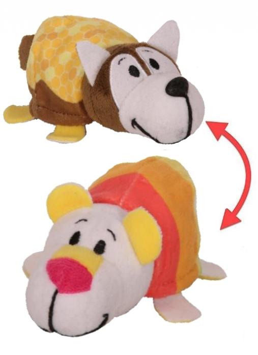 Мягкая игрушка 1toy Вывернушка Ням-Ням 2-в-1 12 см. 77268291b4a17