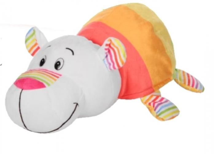 Мягкая игрушка 1toy Вывернушка Ням-Ням 2-в-1 Хаски-Полярный мишка ... faec925e48419
