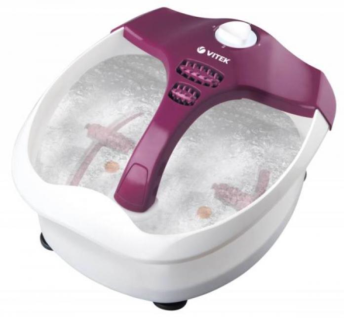 Гидромассажная ванночка Vitek VT-1799-VT фиолетовый