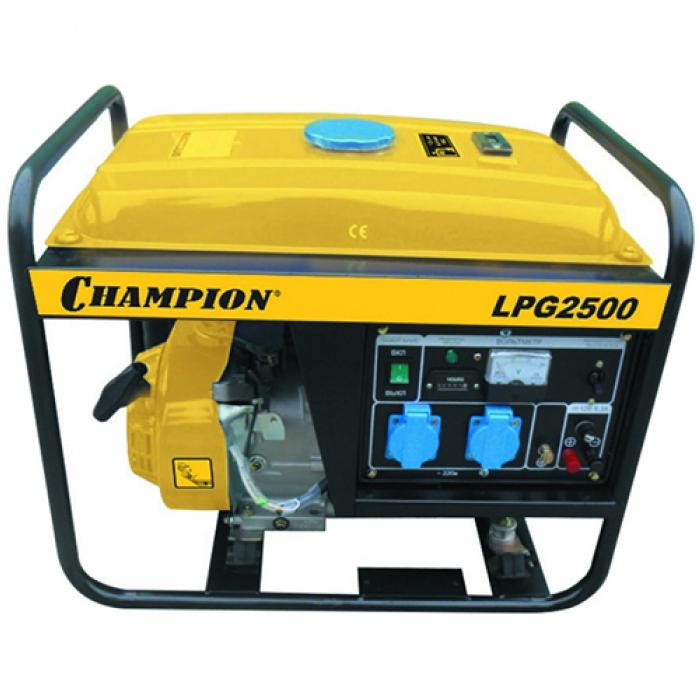 Генератор Champion LPG2500 +газ