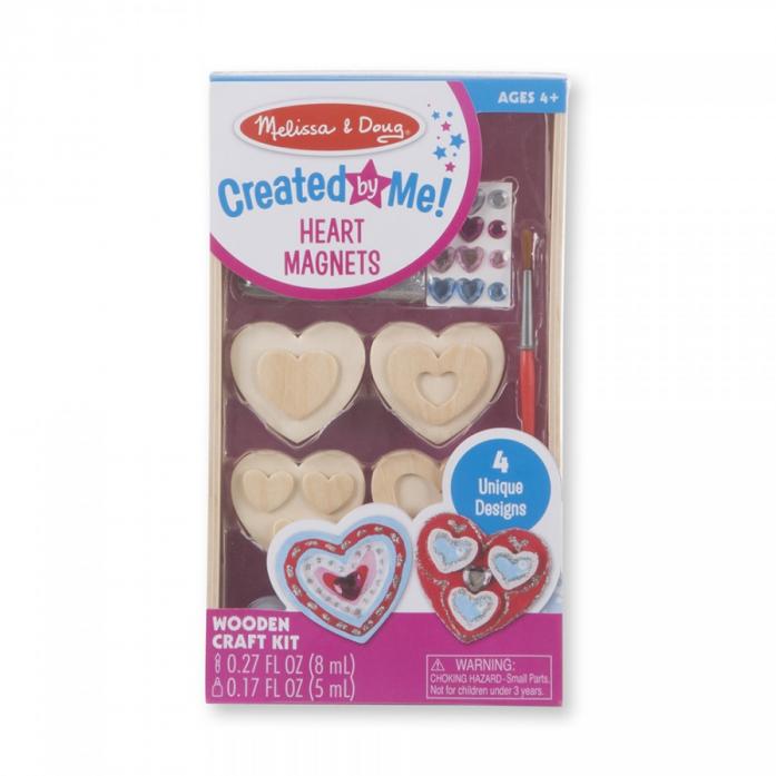 набор для раскрашивания Melissa Doug творчество сердечки