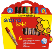 Giotto Be-Be  Super Largepencils 12 цв + точилка 466500