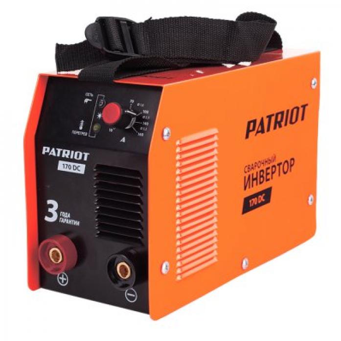 Сварочный аппарат PATRIOT 170 DC
