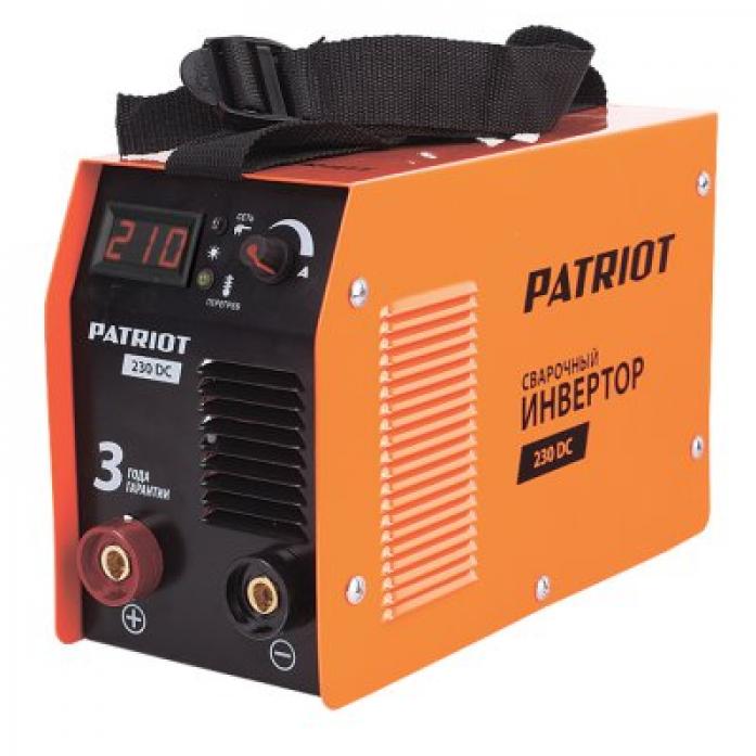 Сварочный аппарат Patriot 230DC MMA 605302520