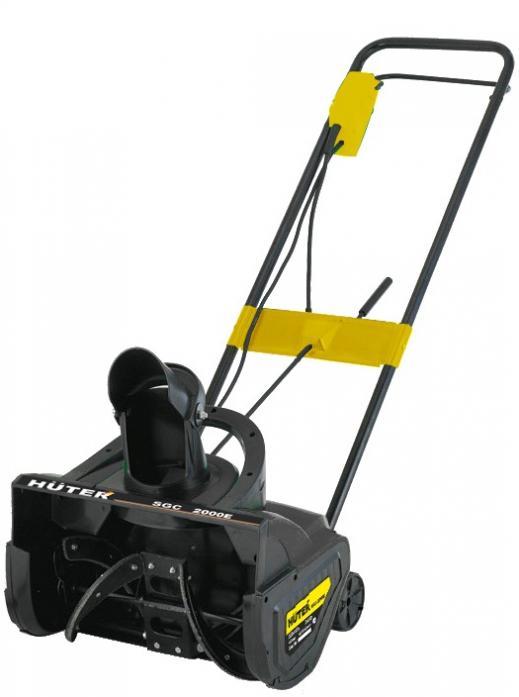 Электрический снегоуборщик Huter SGC 2000Е электро