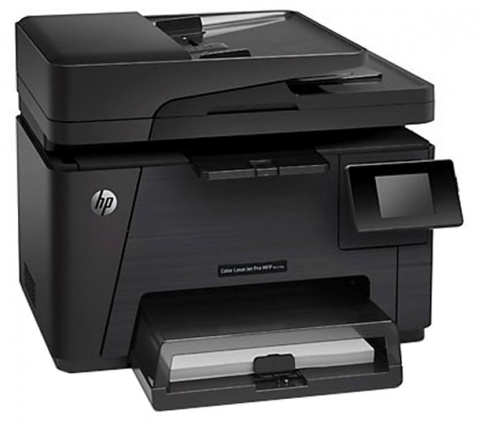 МФУ Лазерный цветной HP Color LaserJet Pro M177fw (CZ165A)