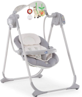 Качели Chicco Polly Swing Up Silver 07079110490000