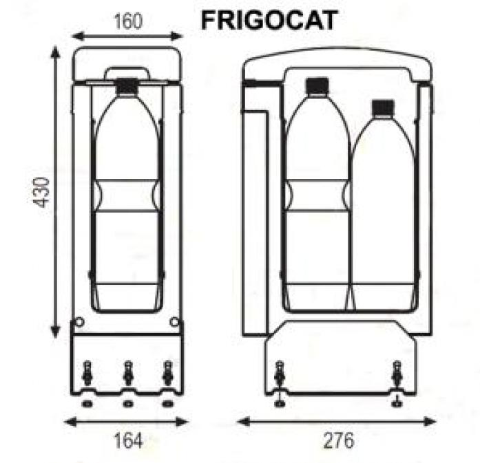 Автохолодильник Indel B Frigocat 24V - фото 2