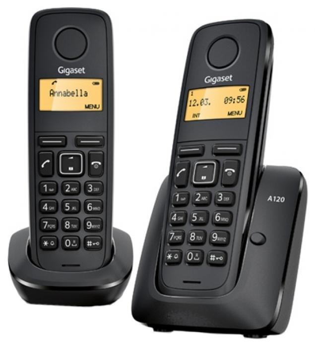 Телефон GIGASET A120 DUO RUS (две трубки)