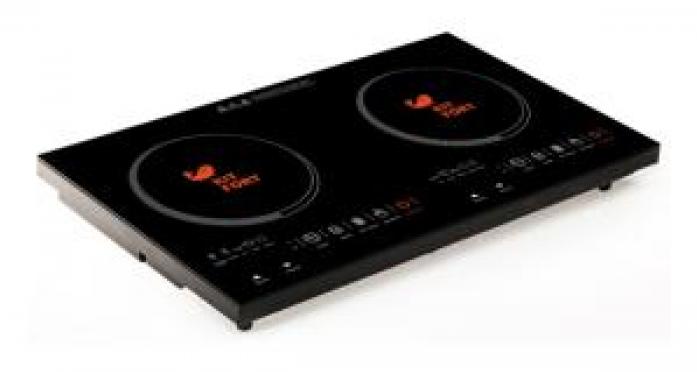 Настольная плита Kitfort КТ-105 черный