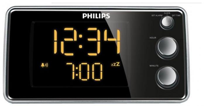 Радиобудильник Philips AJ3551