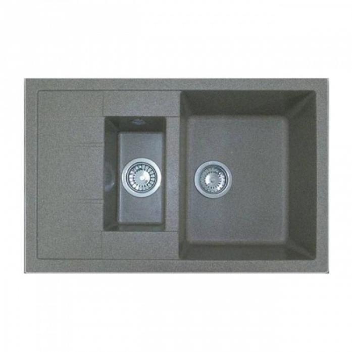 Кухонная мойка GranFest GF - Q775KL серый
