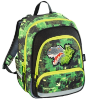 Ранец STEP BY STEP BaggyMax Speedy Green Dino 138536 (430104)