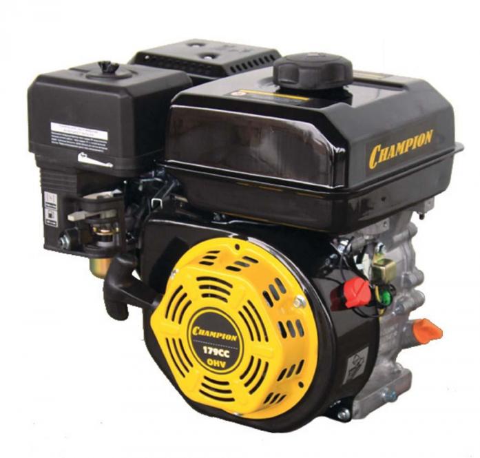 Двигатель Champion 7лс 212см3 резьба 3/4-19мм 15,4кг G210HT