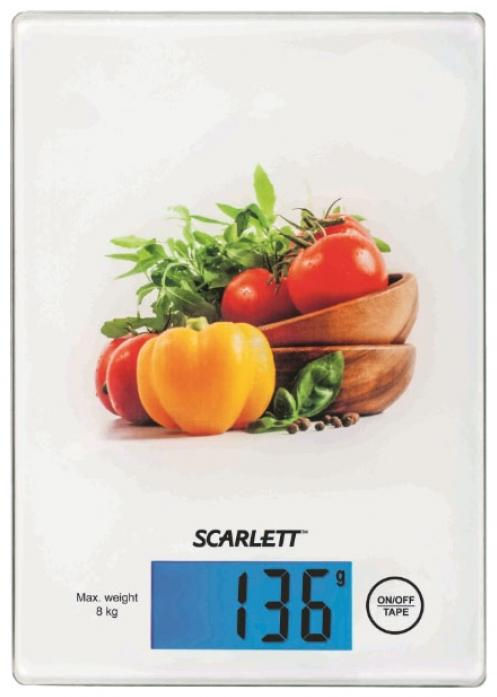 Кухонные весы Scarlett SC-1217 (овощной микс)