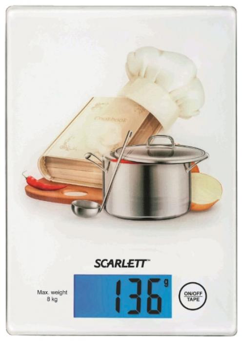 Кухонные весы Scarlett SC-1217 (поваренок)