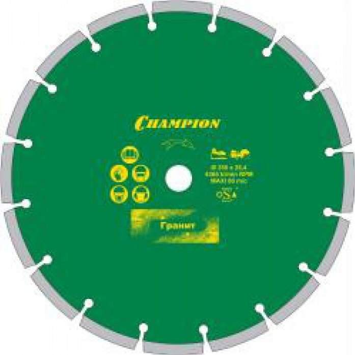 Диск алмазный Champion ST 350/25,4/10 Concremax