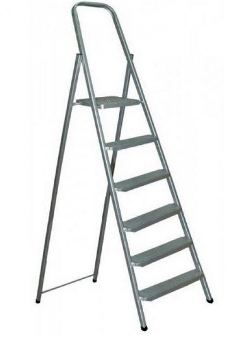 Лестница стремянка стальная RedVerg 6 ступеней