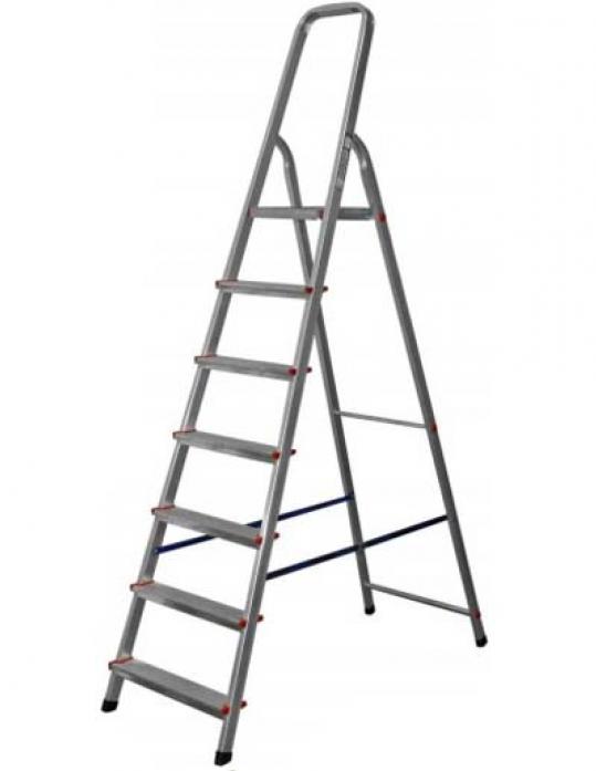 Лестница стремянка RedVerg стальная 7 ступеней