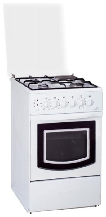 Комбинированная плита Greta 1470-ГЭ-00 белая