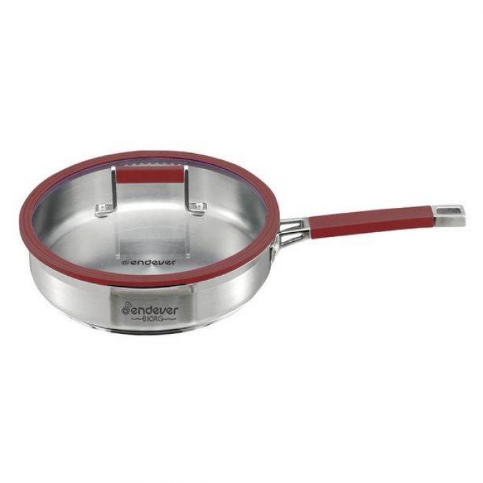 Сковорода с крышкой Kromax Endever BJORG 2406