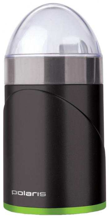 Кофемолка Polaris PCG 0914 черный/зеленый