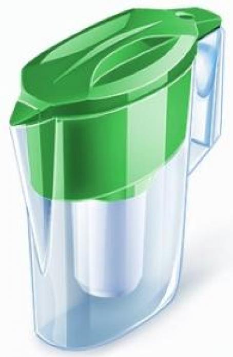 Кувшин Аквафор УЛЬТРА зеленый