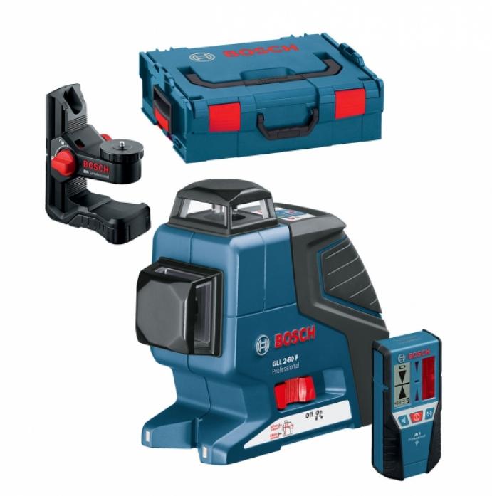 Лазерный нивелир Bosch GLL 2-80 BM1 L-BOXX 0601063208