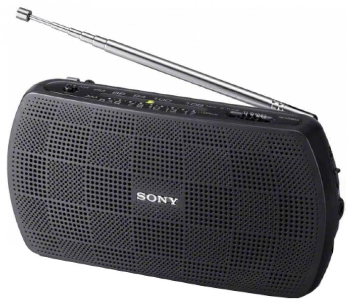 Радиоприемник Sony SRF-18 черный