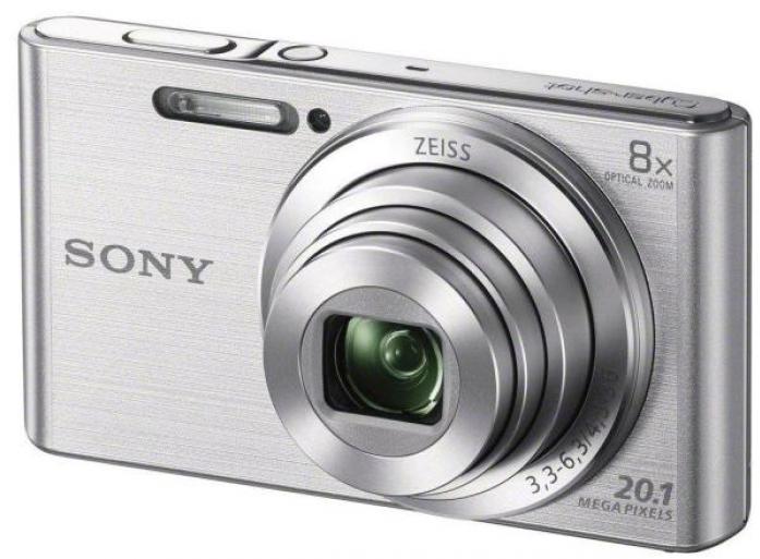 Цифровой фотоаппарат Sony DSC-W830S Silver
