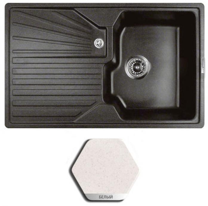 Кухонная мойка Weissgauff CLASSIC 800 granit белый