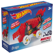 Конструктор Bauer Hot Wheels Musculz Drago 18 элементов 713