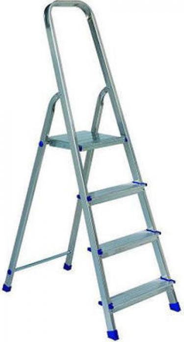 Лестница стремянка АЛЮМЕТ алюминиевая Ам704 4 ступ