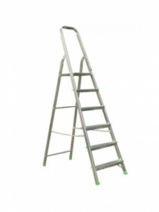 Лестница стремянка АЛЮМЕТ алюминиевая Ам706 6 ступ