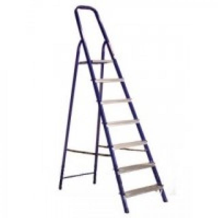 Лестница стремянка АЛЮМЕТ алюминиевая Ам707 7 ступ